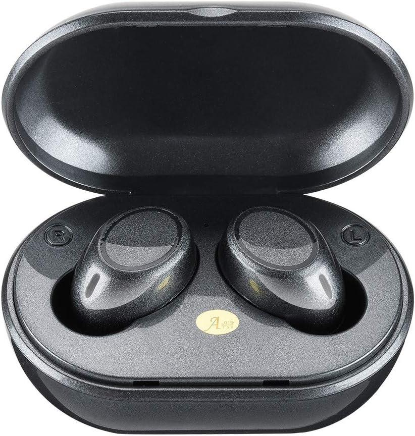 Freesa Bluetooth Earphone Wireless Headphones Headset Earplug Binaural Portable In-Ear Waterproof Built-In Mic Noise Reduction Digital Display Touch Control Charging Case Sports Office Run Drive Fitne