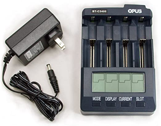 Amazon.com: Cargador de batería universal Tester anazlyer ...