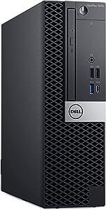 Dell Optiplex 7070 Small Form Desktop, Octa Core i7 9700 3.0Ghz, 16GB DDR4, 512GB NVMe SSD, USB Type-C, DVD-RW, Windows 10 Pro (Renewed)