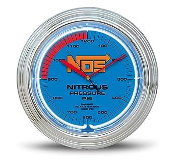 NOS 19352NOS NOS Neon Wall Clock Clocks Amazon Canada