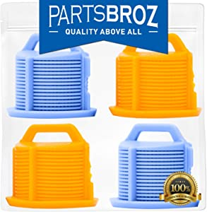 AGM73269501 (2-Pack) Water Inlet Valve Filter Screen for LG Washing Machines by PartsBroz - Replaces Part Numbers AP5202486, 1810261, AH3618281, EA3618281, PS3618281