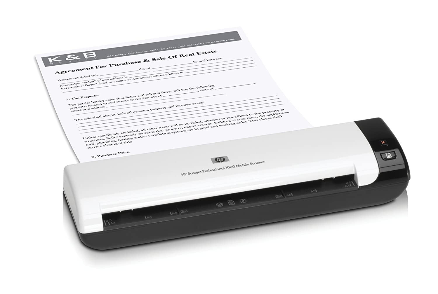Amazon.com: HEWL2722A - Scanjet Professional 1000 Mobile Scanner: Electronics