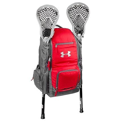 Amazon.com: under armour UA equipo mochila de Lacrosse, Rojo ...
