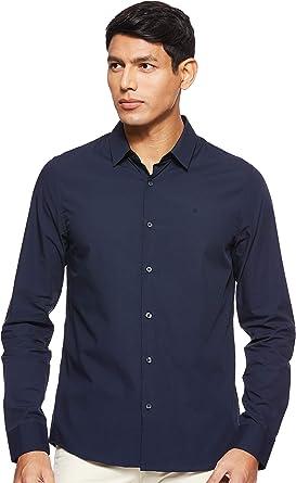 Calvin Klein J30J312439 Camisa Hombre: Amazon.es: Ropa y accesorios