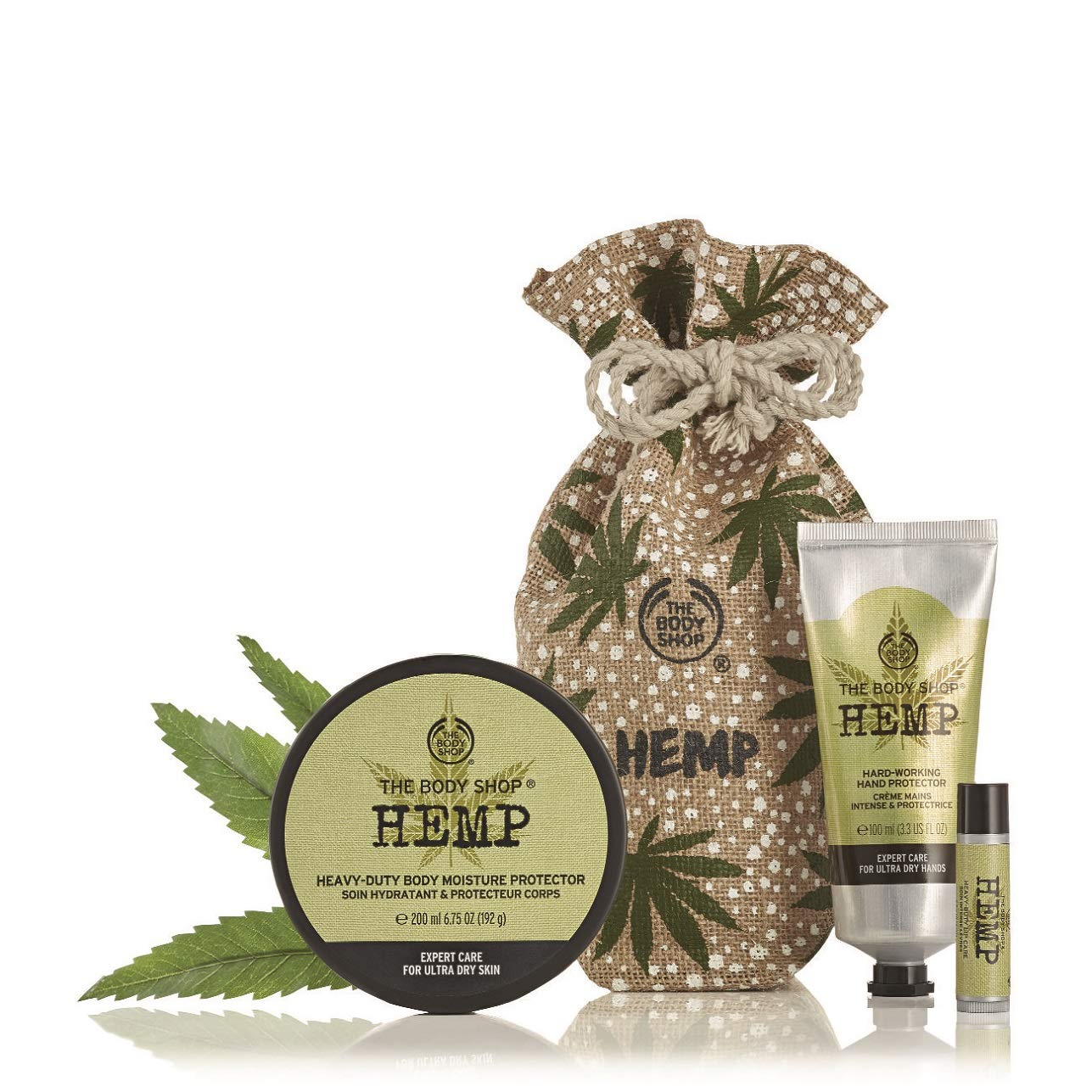 The Body Shop Hemp Expert Moisture Supplies Gift Set by The Body Shop