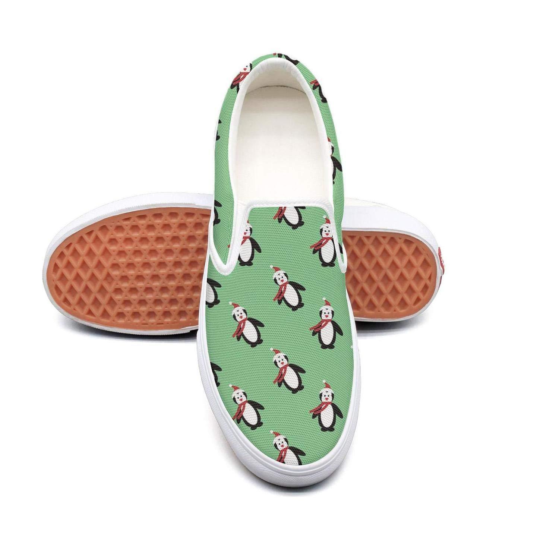 online retailer 057fb c40c1 Lalige Cute Christmas Penguin Women Shoes Fashion Canvas Slip-ONS Skate  Shoes Women B07GLQ26WL Parent 95edff
