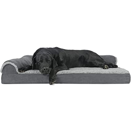 35c3f67ee6f Amazon.com   Furhaven Pet Dog Bed