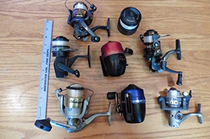 Amazon com: Genric Lot Estate find Fishing REELS & Parts Shakespeare