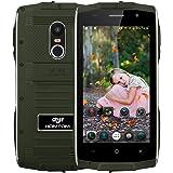 ZOJI Z6 3G Smartphone Ohne Vertrag (Android 6.0, IP68 Wasserdicht Outdoor Handy, 1GB Ram+8GB Rom, Dual-SIM Quad-Core, 4,7 Zoll Touch-Display, Dual Kamera, Fingerabdruck GPS )- Armeegrün