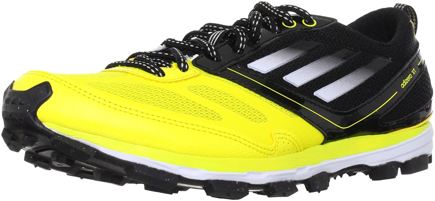 big sale 18aa5 0b22d adidas Unisex - Adult adizero XT 4 Running Shoes Yellow Gelb (Vivid Yellow  S13  Running White FtwBlack 1) Size 46 23 Amazon.co.uk Shoes  Bags