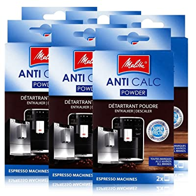 6 x machines expresso Melitta Anticalc