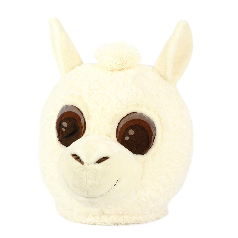 Maskimals Oversized Plush Halloween Mask Llama