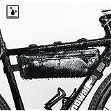Rhinowalk 自転車 トップチューブバッグ フロントバッグ フレームバッグ サドルバッグ 防水 軽量 大容量 収納アクセサリー ブラック