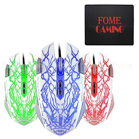 C-12 4000 DPI Programmable Buttons LED Optical USB PRO Gaming Mouse Mice