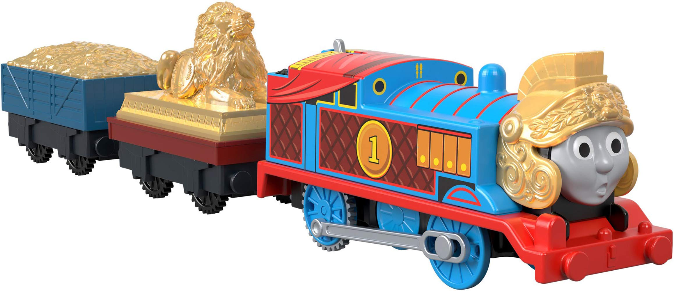 Thomas & Friends Fisher-Price Trackmaster, Armored Thomas by Thomas & Friends