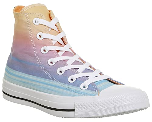 634d556d9b8ae0 Converse All Star Hi Wild Mango Sunset Glow High Top Multi-Coloured UK 10 EU  44  Amazon.co.uk  Shoes   Bags