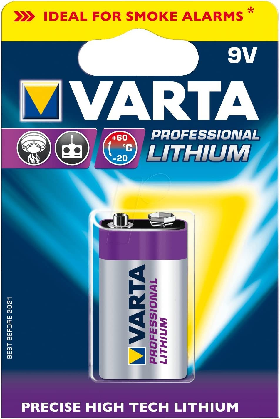 Varta Professional Lithium Batterie Kamera