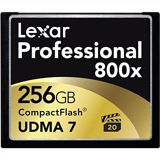Lexar Professional - Tarjeta de Memoria 800x CompactFlash de 256 GB