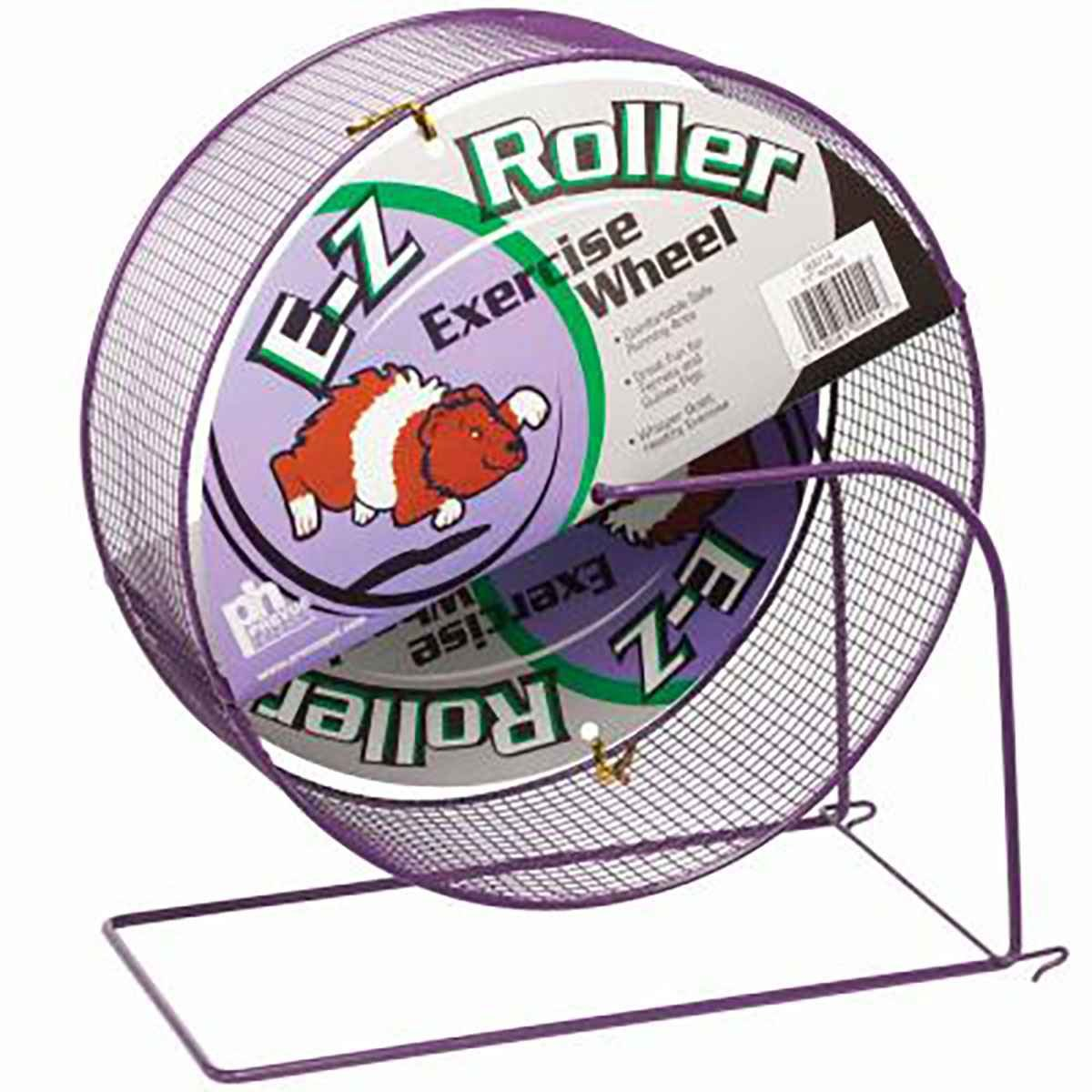 Prevue Pet Products Wire Mesh Ferret Wheel 11in Assorted Colors