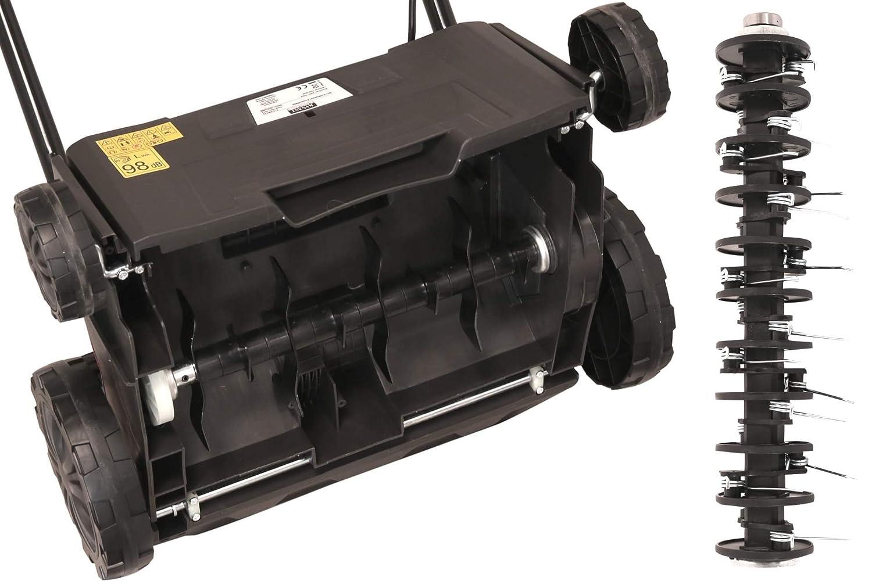 Vertikutierer /& Rasenlüfter KYNAST 2in1 1500 Watt mit Fangkorb Rasenpflege Moos
