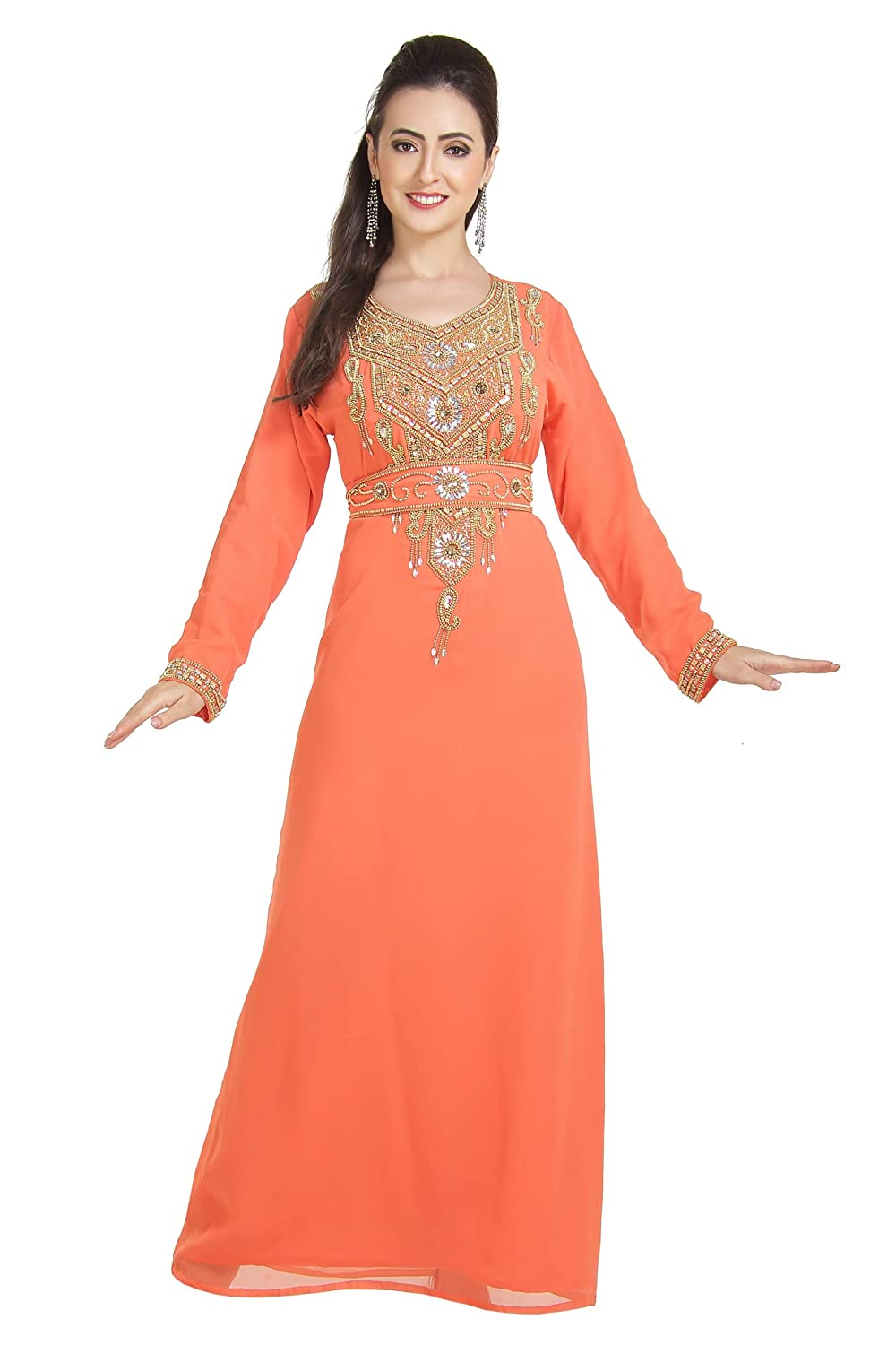Henna Party Wear Walima Gown Maxi for Daily Use Ladies