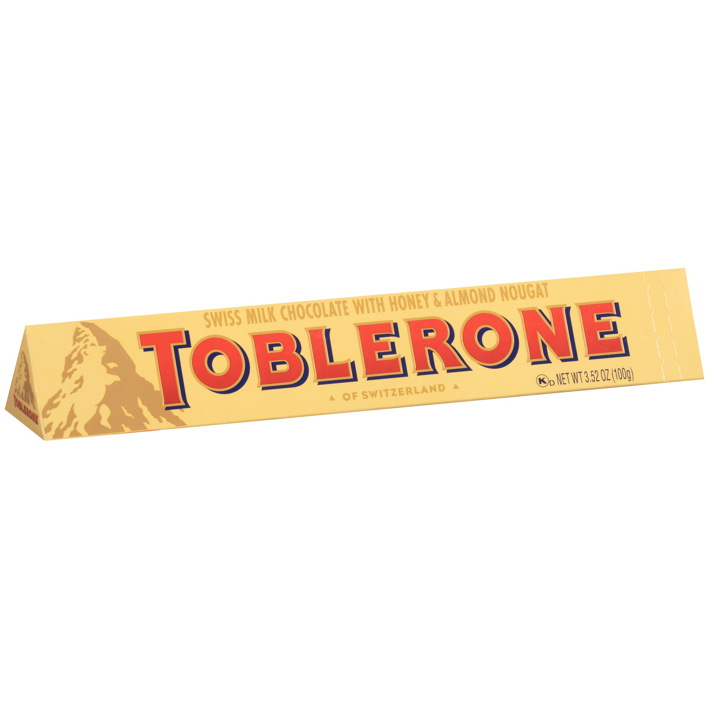 Toblerone Swiss Milk Chocolate Bar, 3.52-Ounce