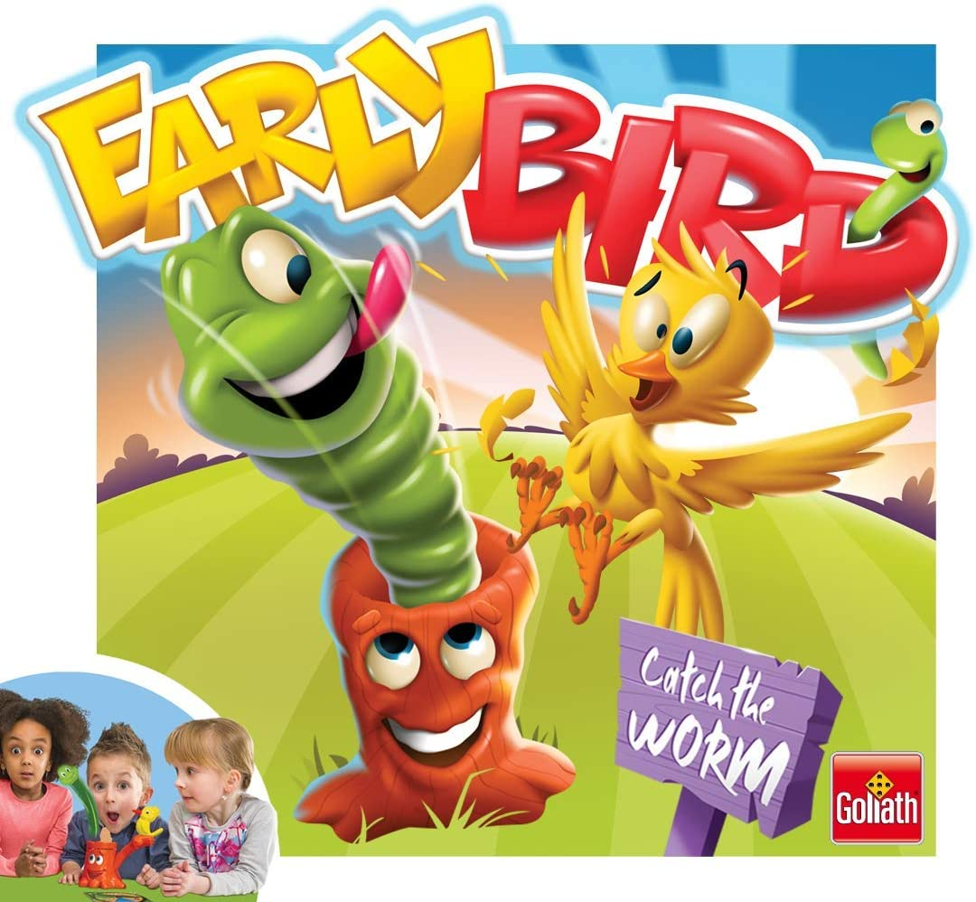 Goliath Early Bird Fun Board Game Ages 4 Brand New