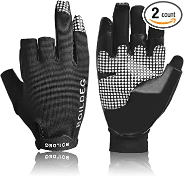 Details about  /Outdoor Fishing Gloves Non-Slip Single Finger Sports Fishing Protector Supplies