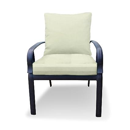 Amazon Com Thomas Collection Outdoor Cushions Cream Patio