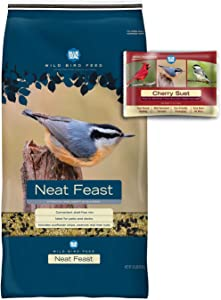 BLUE SEAL Neat Feast Bird Seed & Cherry Suet Cake Bundle
