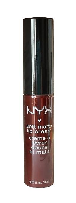 Amazon Com Nyx Soft Matte Lip Cream Madrid Smlc 27 Cranberry