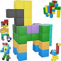 Intock Magnetic Blocks, Magnetic Cubes Educational Toys, Original Award Winning Magnetic Building Blocks For Kids, 100…