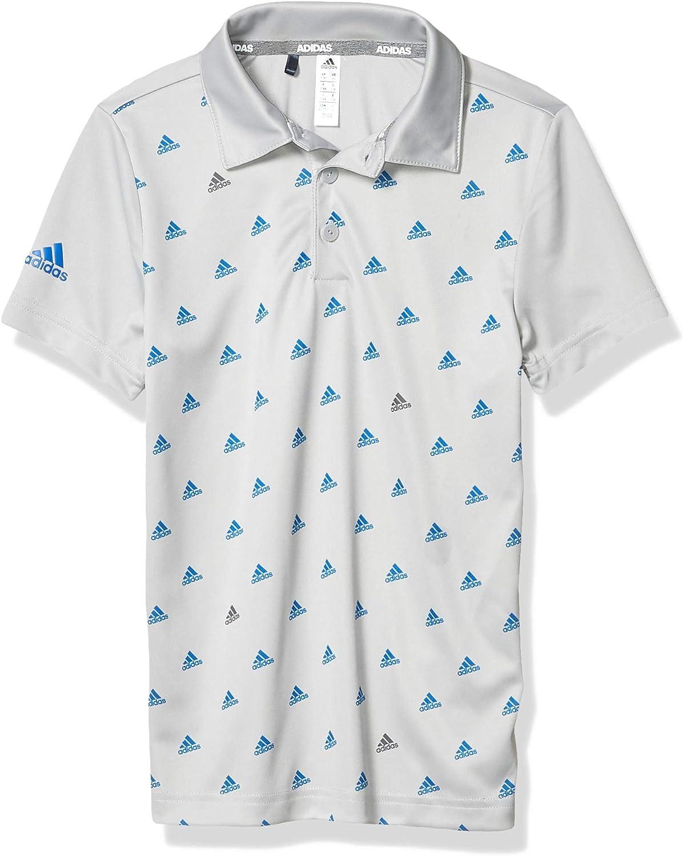 adidas Boys' Printed Polo Shirt