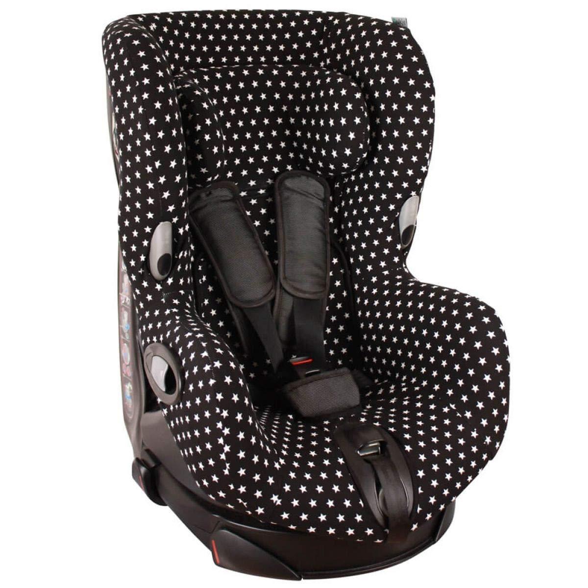 Bezug Maxi-Cosi Axiss Kindersitz /♥ Blau Sterne /♥ Schwei/ßabsorbierend und weich f/ür Ihr Kind /♥ Sch/ützt vor Verschlei/ß und Abnutzung /♥ /Öko-Tex 100 Baumwolle /♥