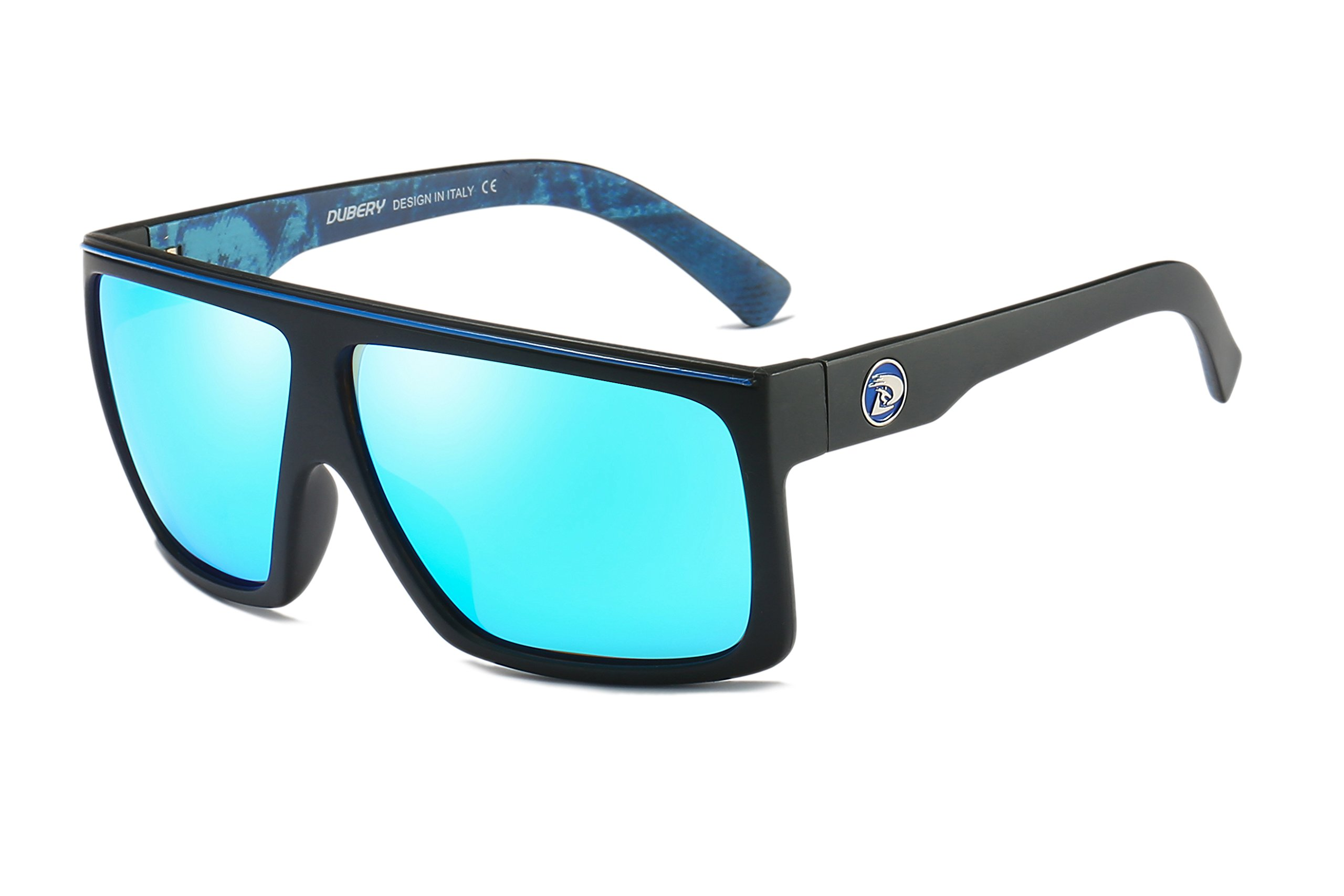 DUBERY New Men Polarized Sport Sunglasses Outdoor Women Driving Riding Goggles (#5) by DUBERY