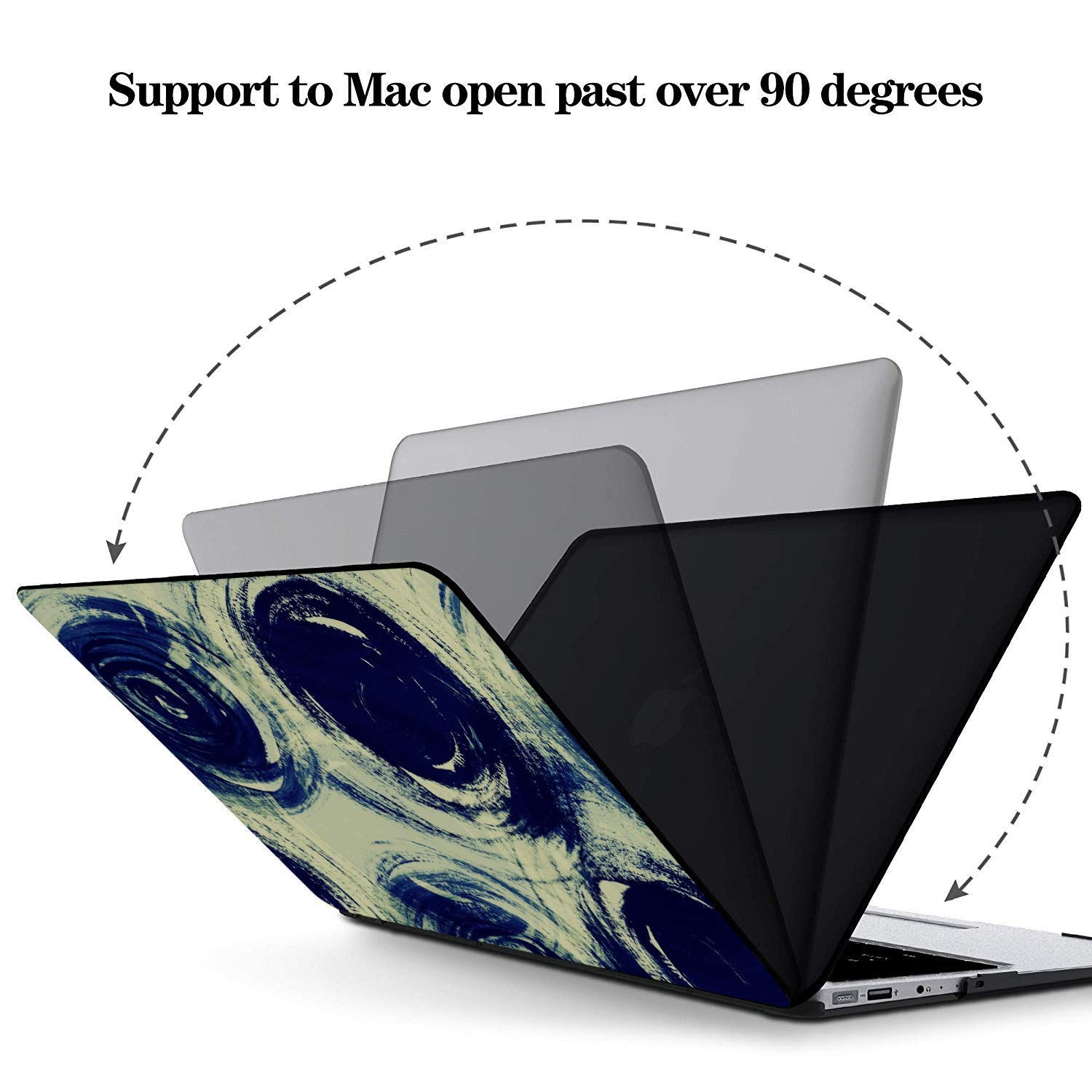 MacBook Pro Case 2015 Shining Colorful Romantic Art Gift Plastic Hard Shell Compatible Mac Air 11 Pro 13 15 Mac Covers Protection for MacBook 2016-2019 Version