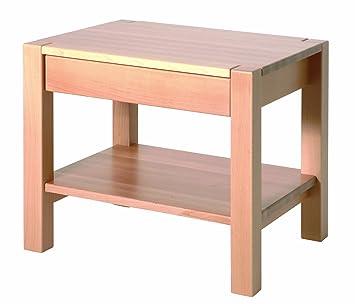 Haku Möbel 30412 Beistelltisch 50 X 40 X 45 Cm Buche Gedämpft