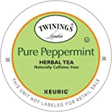 Twinings Pure Peppermint Tea K-Cup, 12 Count(Packaging may vary)