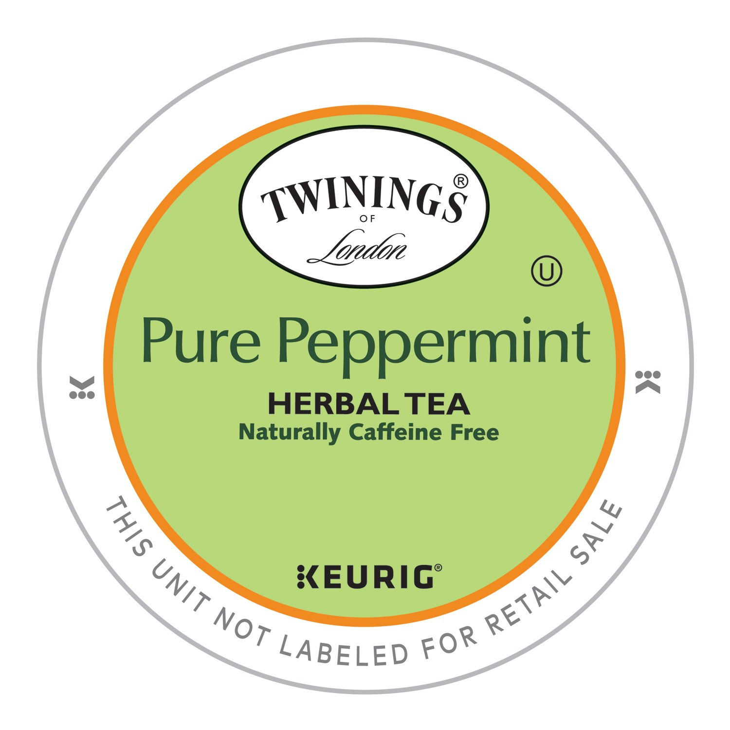 Twinings of London Pure Peppermint Tea K-Cups for Keurig, 12 Count (Pack of 6) by Twinings (Image #3)