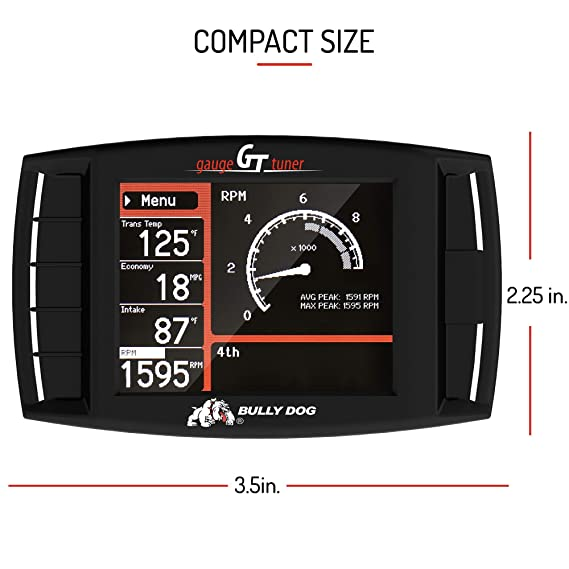 Bully Dog 40420 >> Bully Dog 40420 Gt Platinum Diesel Diagnostic And Performance Tuner With 4 Preloaded Tunes