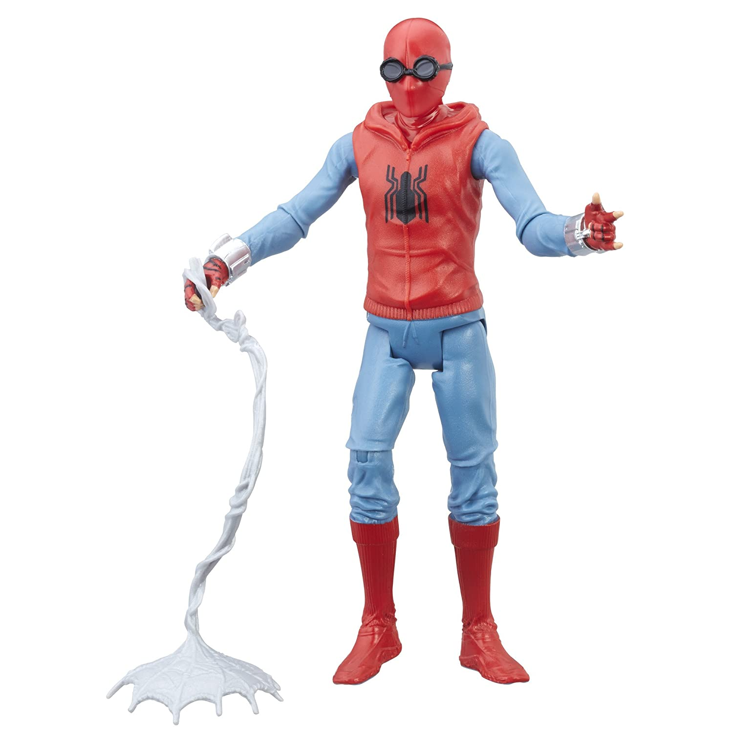 Spider-Man: Homecoming Homemade Suit Figure, 6-inch