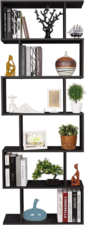 Regal Wohnzimmerregal Raumteiler 60 cm Standregal Bücherregal Dekoregal  Schwarz