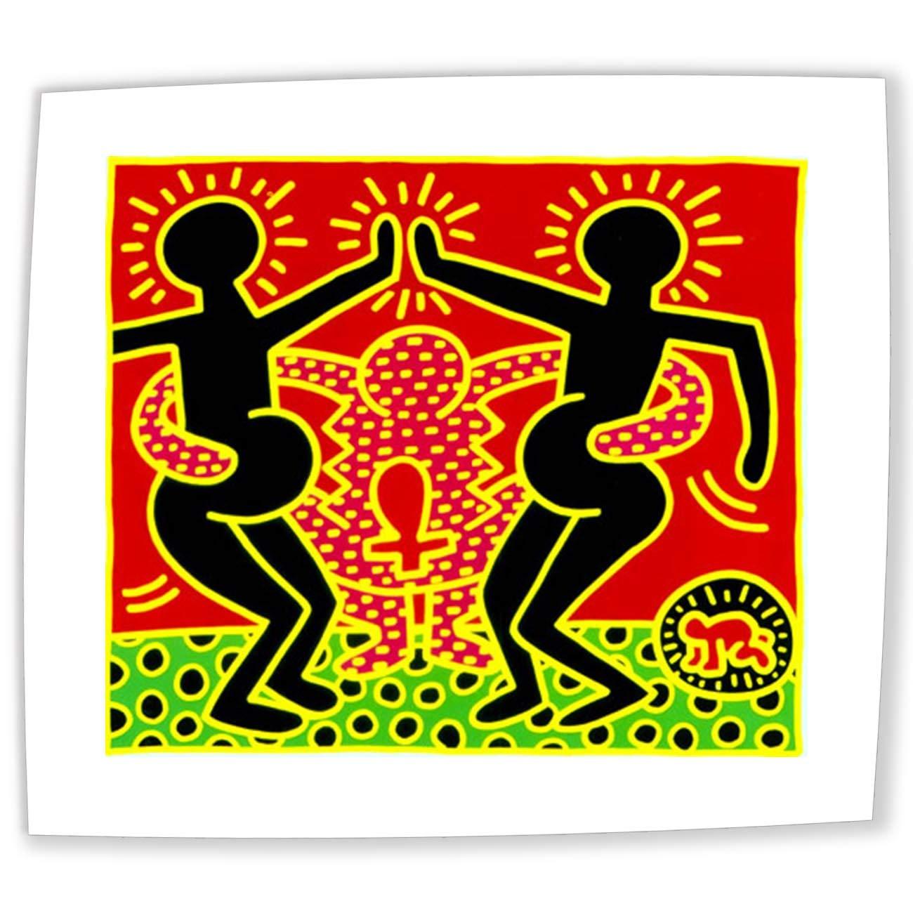 Jh Lacrocon Dipinti A Mano Mose E Il Roveto Ardente 1985 Di Keith Haring 120x95 Cm Riproduzioni Tela Astratta Art Pop Art Graffiti Like Poster Arrotolata Decorazioni Per Interni Casa E Cucina Zlineproducts Com
