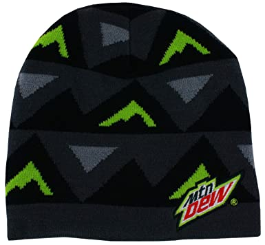 632629af893 Image Unavailable. Image not available for. Color  Mountain Dew Triangle Beanie  Grey