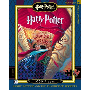 New York Puzzle Company - Harry Potter Chamber of Secrets - 1000 Piece Jigsaw Puzzle