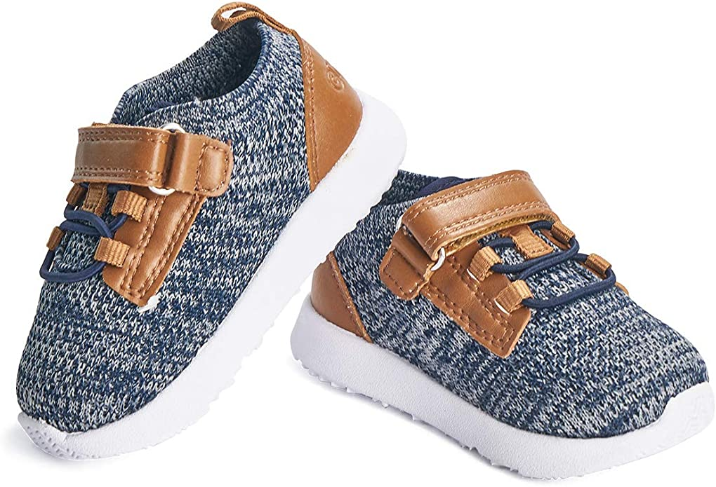 Toddler Baby Girls Walker Soft Sole Anti-slip Shoes Trainers Sneakers Canvas K0