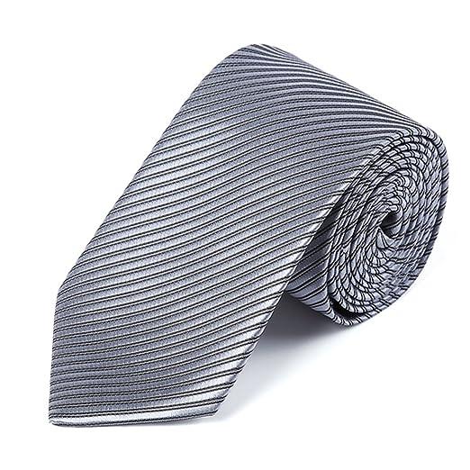 Zhongsufei Corbata Casual de Negocios para Hombre Corbata, Hombres ...