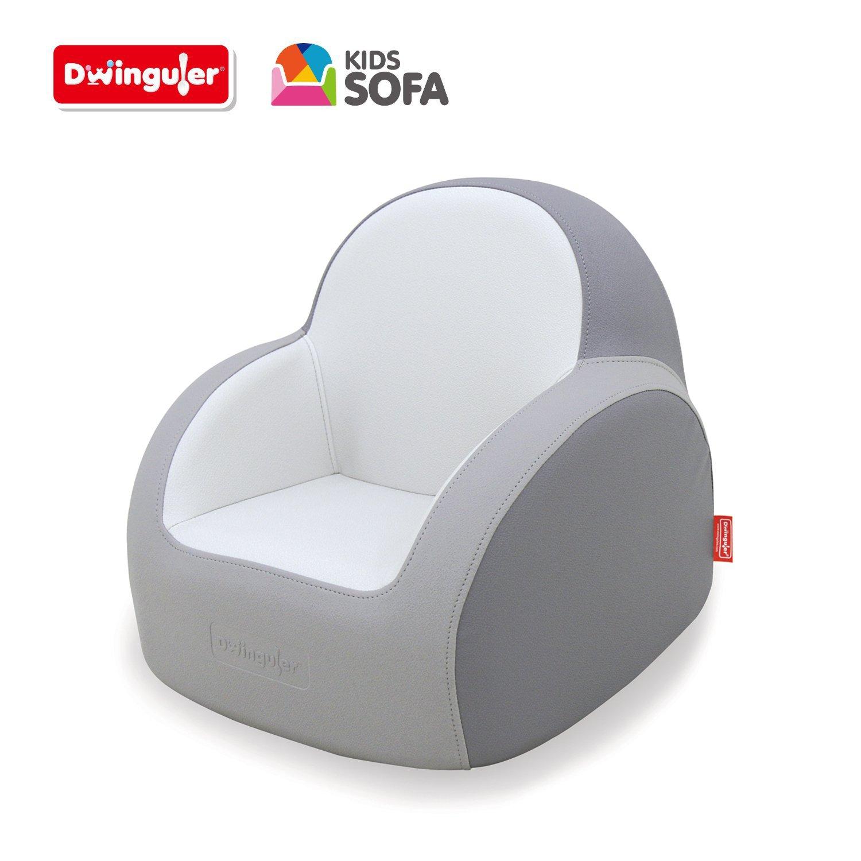 Dwinguler Kids Sofa, Dove Grey