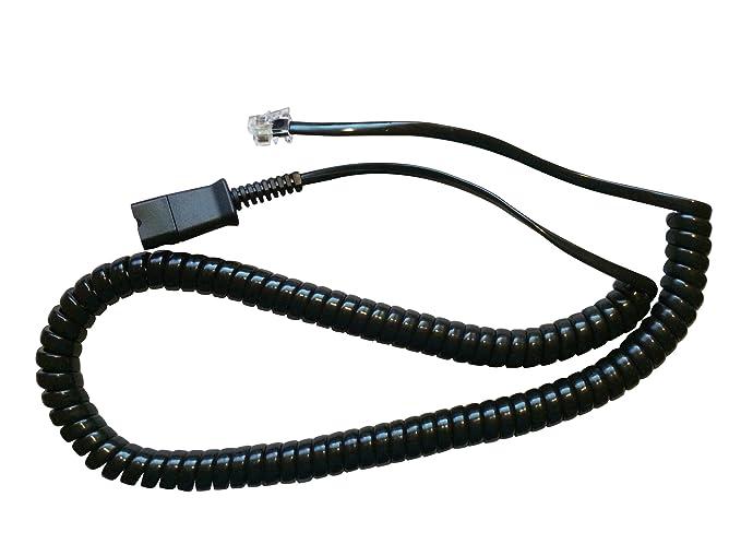Plantronics 2671601 Direct Connect Cable, Black