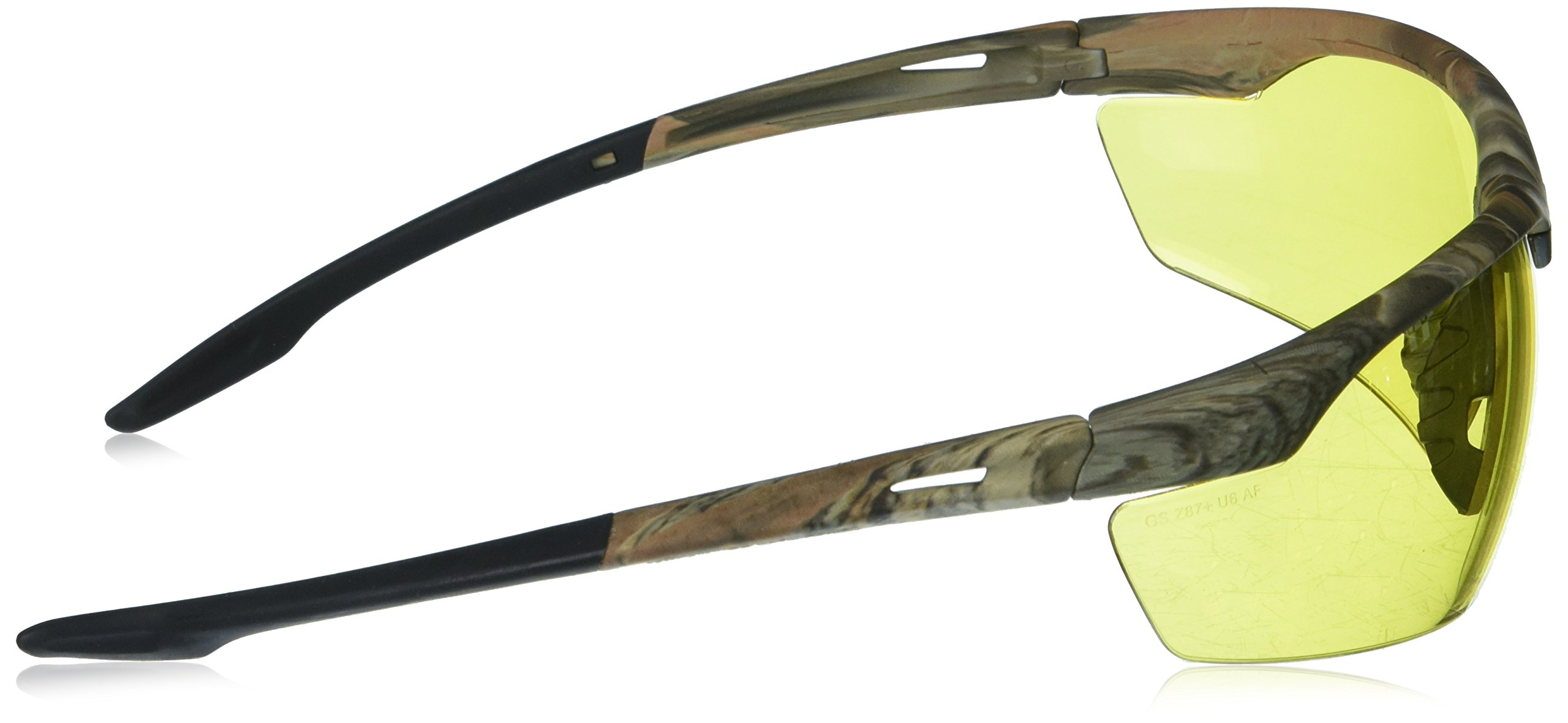 LINCOLN ELECTRIC CO KH9710 Yellow Camo Safety Glasses with Amber Lenses, by Lincoln Electric (Image #3)